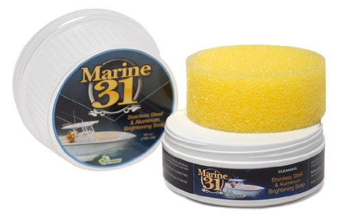 Marine 31 M31-600 Stainless Steel & Aluminum Brightening Soap