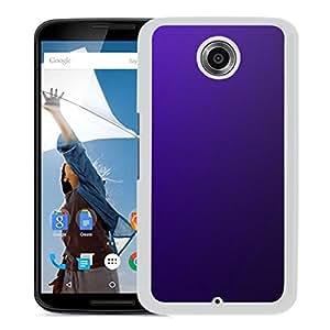 New Custom Designed Cover Case For Google Nexus 6 With Purple Hade Gradation Blur Wallpaper (2) Phone Case