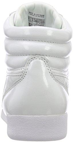 Scarpe Ginnastica Bianco Iridescent da Hi Reebok F Donna S Pale White Pink pYnaax8