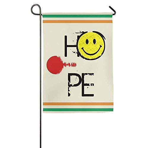 HUVATT Richter Scale Day Garden Flag Indoor & Outdoor Decorative Flags for Parade Sports Game Family Party Wall Banner 12 x 18 inch