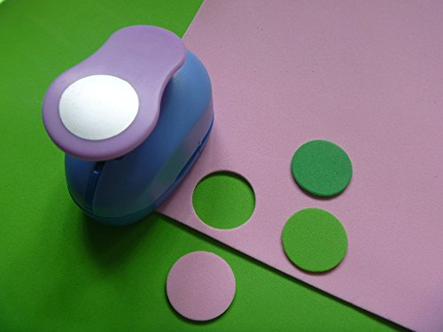 Circle Crafts Punch 1-Inch paper punches by Fascola