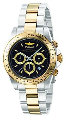 Invicta Men's 9224 Speedway Collection S Series Two-Tone Stainless Steel Watch with Link Bracel