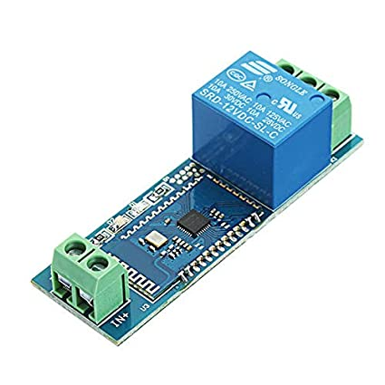 Amazon com: Anddoa DC 12V Bluetooth Relay Board Mobile Phone