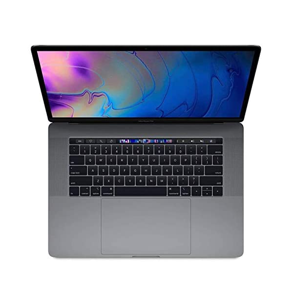 "Apple MacBook Pro | 15.4"" | 2.9GHz 6-core i9 | 512GB Storage | 32GB Memory | Radeon Pro Vega 20 | Space Grey | 2018 | (Renewed) 1"