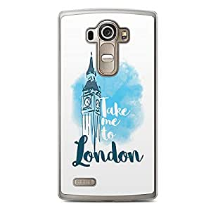 London LG G4 Transparent Edge Case - Destinations of the World