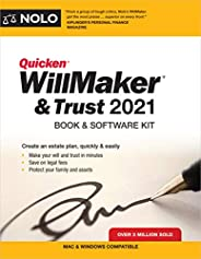 Quicken Willmaker & Trust 2021: Book & Soft