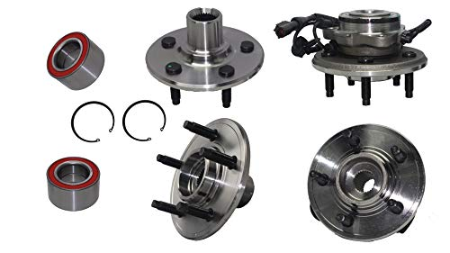 (Detroit Axle - All (4) Front & Rear Wheel Bearing Hub Assembly for 2002-2010 Ford Explorer 4 Door - [2002-2010 Mercury Mountaineer])