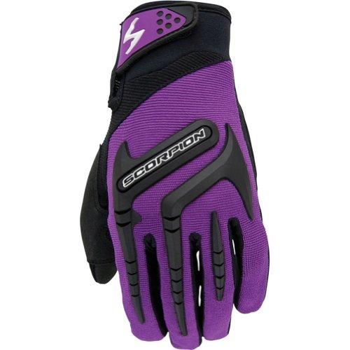 Scorpion Skrub Women's Textile Sports Bike Racing Motorcycle Gloves - Purple / Small