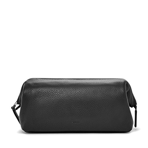 Fossil Framed Travel Kit Black (Leather Estate Zip)