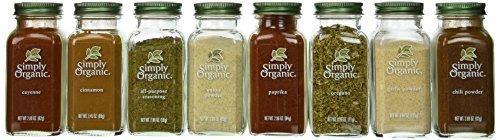 organic spice set - 6