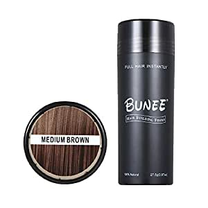 Hair Building Fibers 27.5g Polvo para engrosamiento del cabello ...
