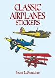 img - for Classic Airplanes Stickers (Dover Stickers) book / textbook / text book