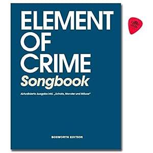 Element Of Crime - Libro de canciones para guitarra, canto con ...