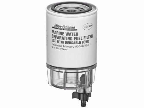 Five Oceans Fuel Water Separator Filter w/See-Thru Bowl - BC ()