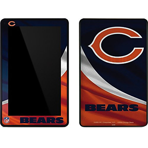 (Skinit Chicago Bears Kindle Fire Skin - Officially Licensed NFL Tablet Decal - Ultra Thin, Lightweight Vinyl Decal Protection)