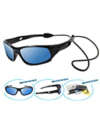 VATTER TR90 Wayfarer Polarized Sport Sunglasses For Kids Boys Girls Chilrens