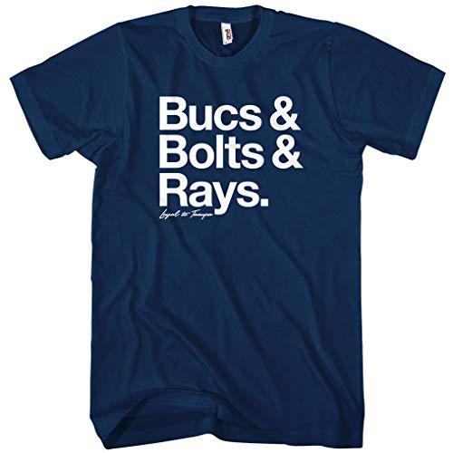 Smash Transit Men's Loyal to Tampa T-Shirt - Navy, -