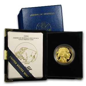 2006 W American Gold Buffalo Coins $50 Proof US Mint