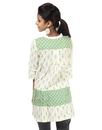 Indian Designer saffico duschvorhangstange kurta