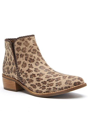 Matisse Merge Leopard Cheetah Ankle Bootie Top Matisse Boot Merge Mid FPPwn6xSpq