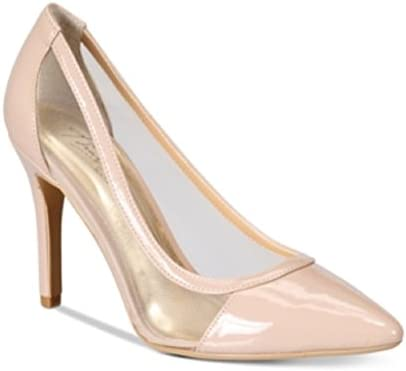 Thalia Sodi Womens Natalia Pointed Toe Classic Pumps Shoes Nude
