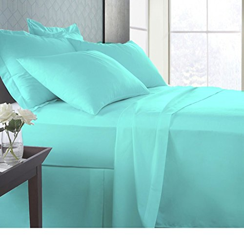 Linen Sheets Bamboo Sheet set 800 TC Italian finish Eco-friendly Hypoallergenic, breathable luxurious utlra-soft and less piling 21