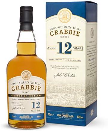 Crabbie 12 Años Island Single Malt Scotch Whisky 43% - 700 ml