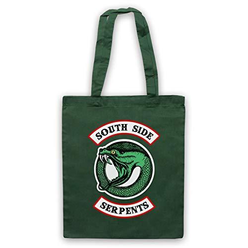 Inspired Side Logo Riverdale Apparel Par Fonce Serpents Circle South D'emballage Officieux Vert Inspire Sac xXwX8Bqar