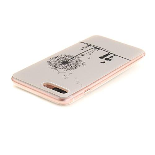 Voguecase® Pour Apple iPhone 7 Plus 5.5, TPU avec Absorption de Choc, Etui Silicone Souple, Légère / Ajustement Parfait Coque Shell Housse Cover pour Apple iPhone 7 Plus 5.5 (Les jeunes amoureux)+ Gra