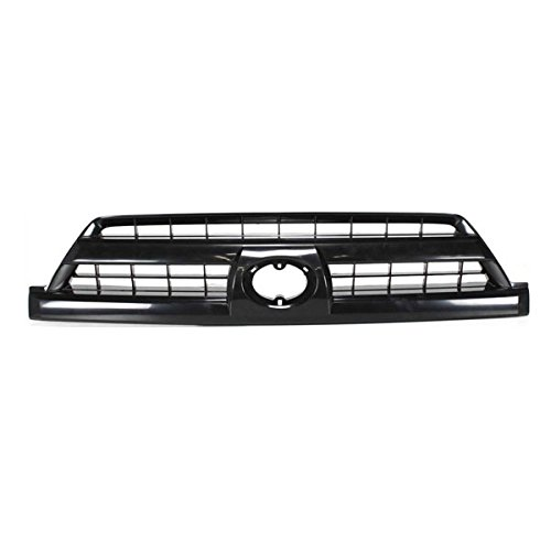 Partomotive For 03 04 05 4-Runner Front Grill Grille Assy Black Shell TO1200261 - 2005 Grille 4runner Toyota