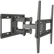 Husky Mounts Full Motion TV Wall Mount Fits Most 32 - 55 Inch LED LCD Flat Screen Up to VESA 400X400 Tilt Swivel Articulating TV Bracket