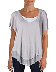 Free People Cookie Tee Grey Size Medium