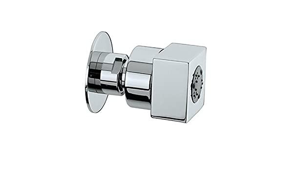 Polished Nickel Standard Plumbing Supply Jaclo S072-PN CUBIX Body Spray with Escutcheon Kit