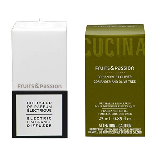 Fruits & Passion Electric Fragrance Diffuser Plug and Refill Set (Coriander and Olive Tree) ()