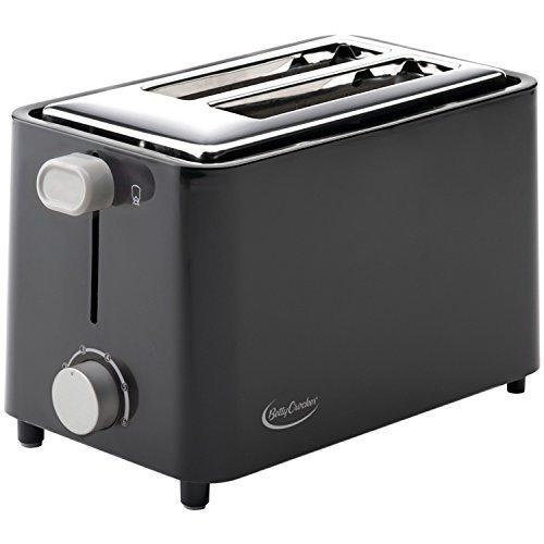Betty Crocker BC-2605CB 2-Slice Toaster, Black Size: 2 - Slice Color: Black, Model: BC-2605CB, Hardware - Stores Si Mall