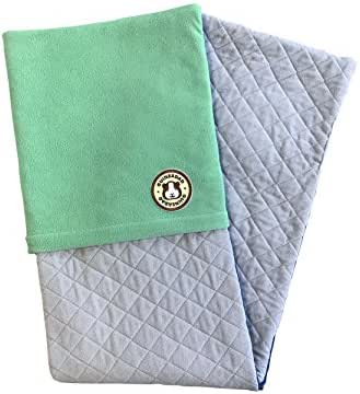 GuineaDad Fleece Liner 2.0   Guinea Pig Fleece Cage Liners   Guinea Pig Bedding   Burrowing Pocket Sleeve   Extra Absorbent Antibacterial Bamboo   Waterproof   Available in Various Cage Sizes