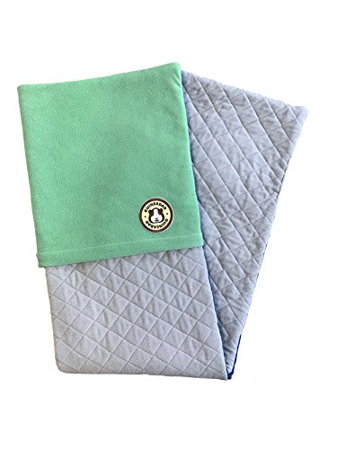 er 2.0 | Guinea Pig Fleece Cage Liners | Guinea Pig Bedding | Burrowing Pocket Sleeve | Extra Absorbent Antibacterial Bamboo | Waterproof | Available in Various Cage Sizes ()