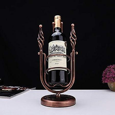 HCYSNG Vinoteca de pie Soporte para Botella de Vino de pie Independiente para la decoración del hogar, gabinetes de Barra de Cocina (Color : 6)