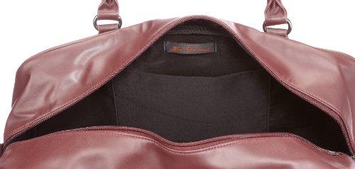 Ben Sherman Union Jack Holdall MH00001, Unisex - Erwachsene Henkeltaschen 44x31.5x21.5 cm (B x H x T) Rot/Burgundy