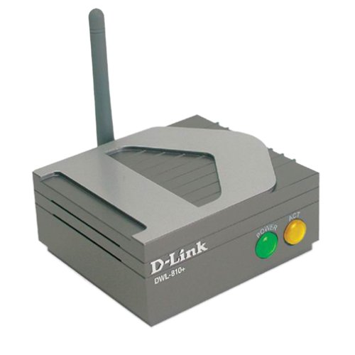 Ethernet Bridge D-link (D-Link DWL-810+ Ethernet to Wireless Bridge, 802.11b, 22Mbps)