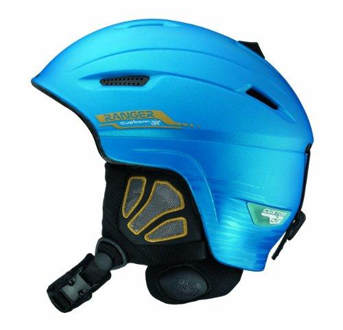 Salomon Ranger Custom Air Ski Helmets (Blue Matt, X-Small), Outdoor Stuffs