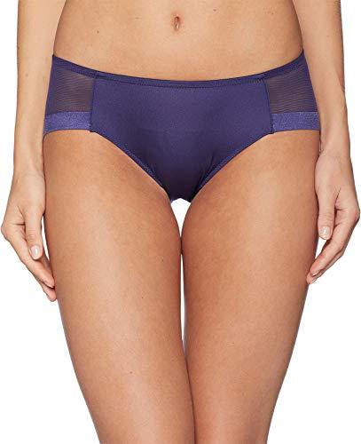 Le Mystere Women's Infinite Edge Bikini Panty, deep Navy, XL
