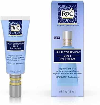 RoC Multi Correxion 5 in 1 Eye Cream, Anti-Aging Treatment Made with Hexinol Technology,.5 fl. oz