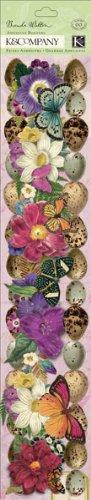 K&Company Brenda Walton Flora & Fauna Adhesive Borders -