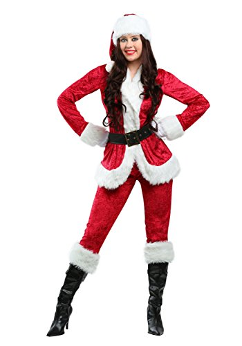 Plus Size Sweet Santa Costume - 1X