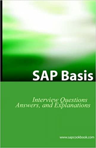 SAP Basis Certification Questions: SAP Basis Interview