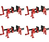 Bessey BPC-H12 1/2-Inch H Style Pipe Clamps (Pack of 4)