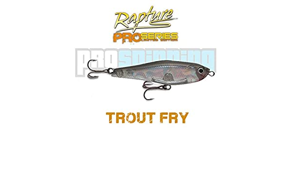 RAPTURE - TROUT FRY 40 - Señuelo pesca - Spinning (S -Silver ...