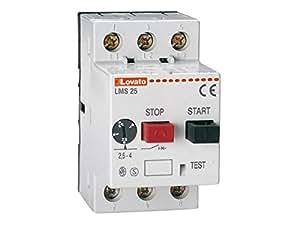 Lovato - Interruptor guardamotor 6ka regulación 6,3-10a