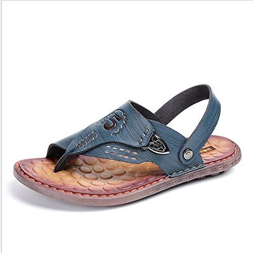 E Casual Scarpe Spiaggia 24 spiaggia 27 Tempo Estate Scarpe Sandali Per pantofole CM Marroni Da Uomo Sandali 0 All'aperto Il Da Wagsiyi Traspirante Blu Libero 0 da qvw6CAU